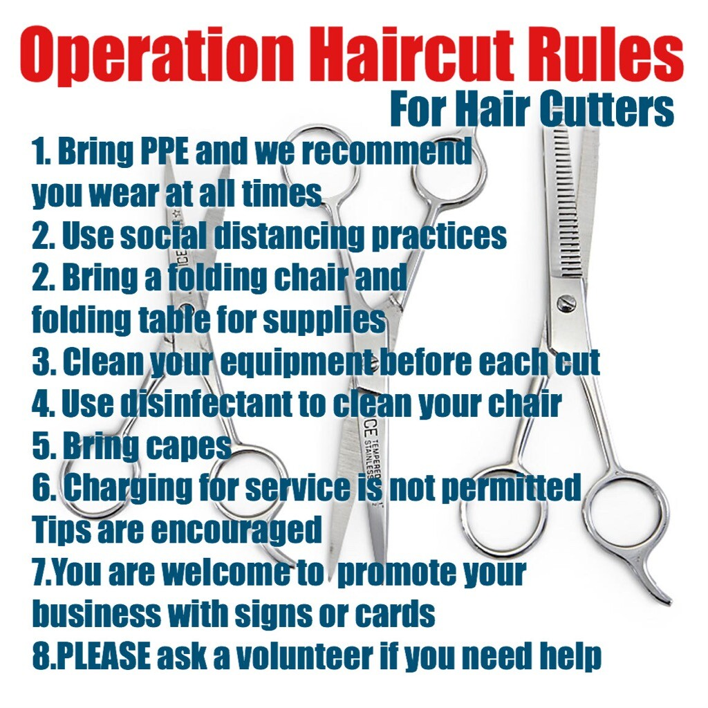 Rules for Operation Haircut