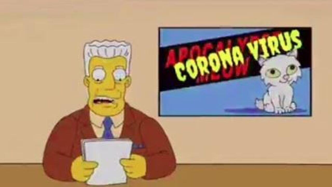 Симпсоны и коронавирус