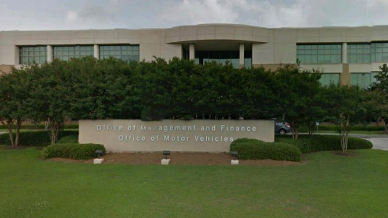 LA Office of Motor Vehicles experiencing statewide outages