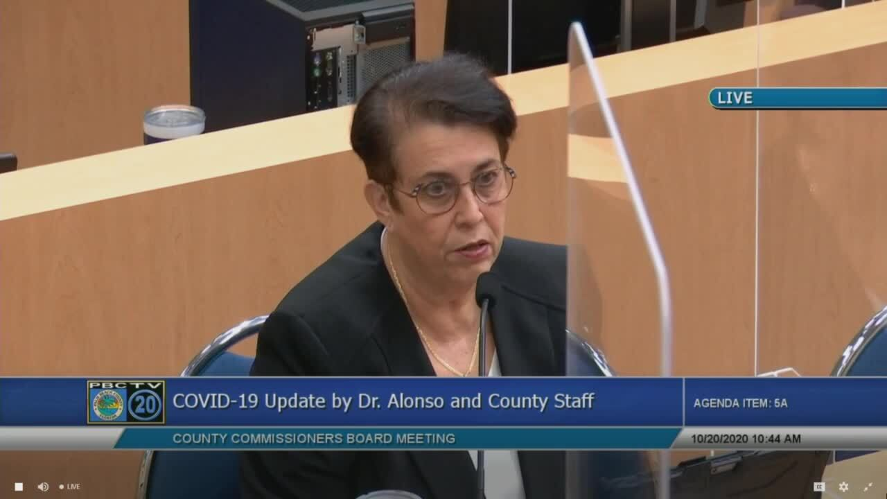 Dr. Alina Alonso on Palm Beach County TV, Oct. 20, 2020