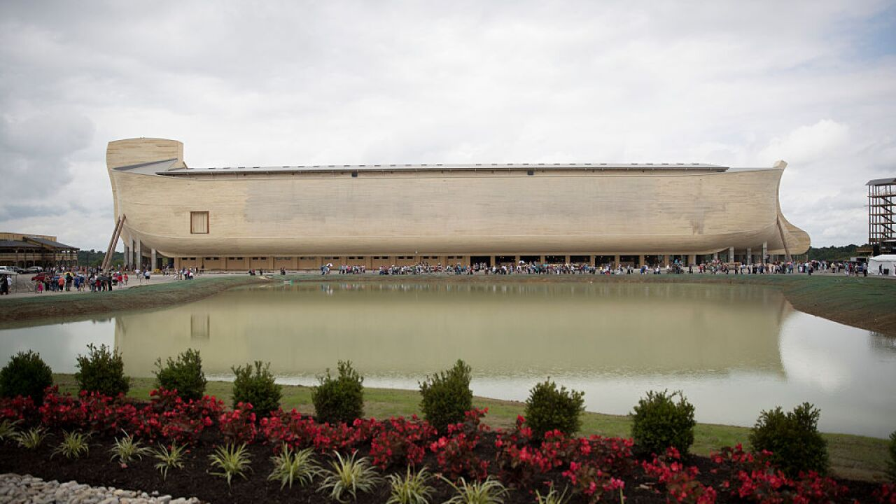 Ark Encounter in Kentucky suing after flooding causes property damage