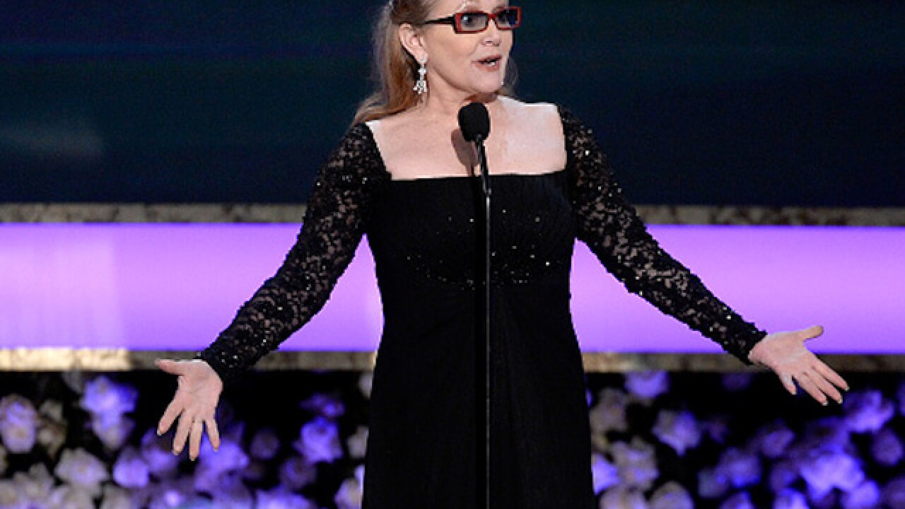 Hollywood reacts to the loss of Carrie Fisher
