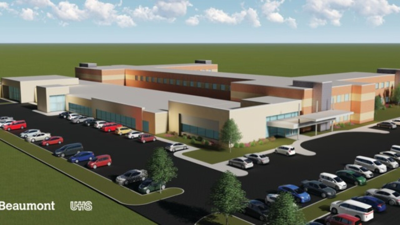 Beaumont, Universal Health Services to build new $40M mental health facility in Dearborn