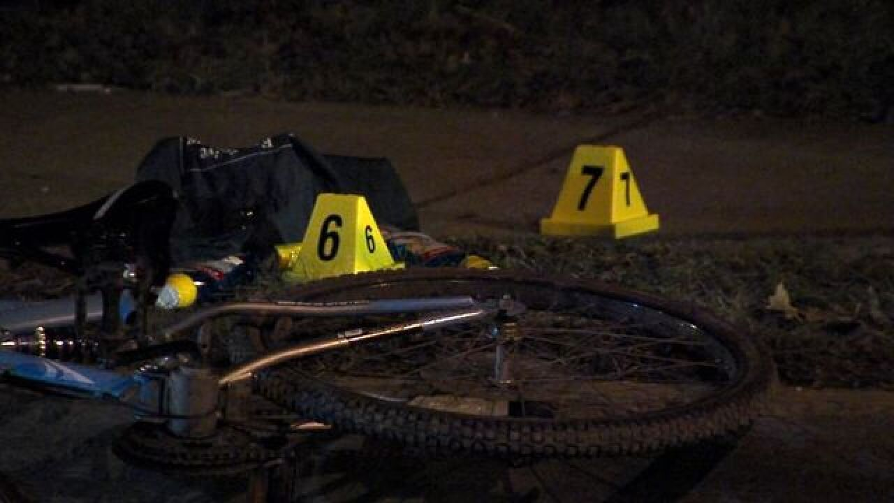 CLE man shot while riding bike saved by police
