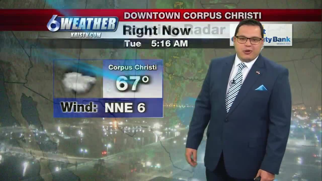 Juan Acuña's weather for March 23, 2021