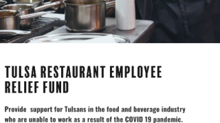 tulsa restaurant employee relief fund