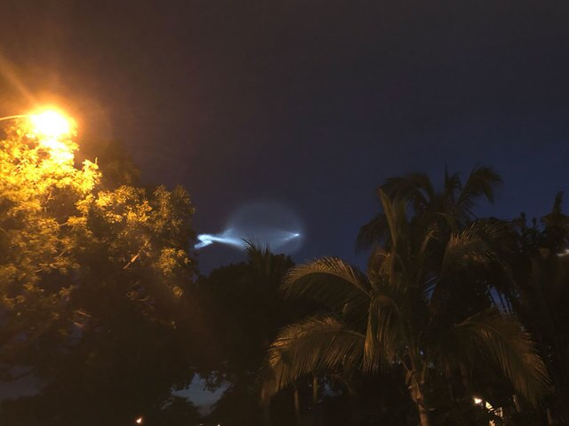 Photo gallery: SpaceX launch lights up Florida sky