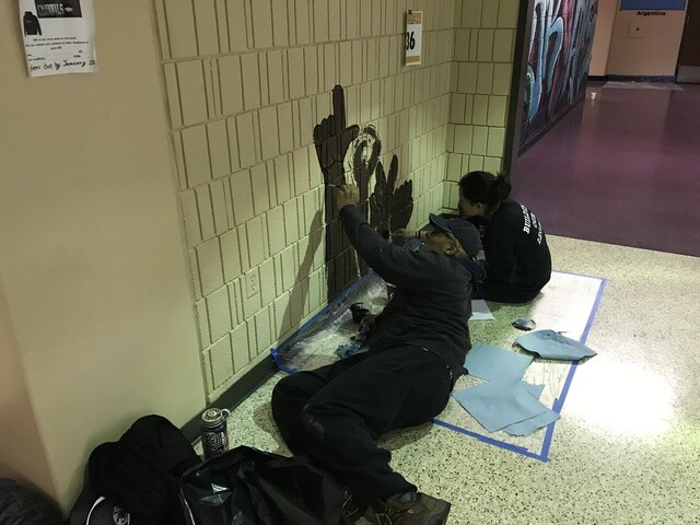 Hundreds volunteer at South Division High School for MLK day of service