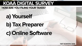 How are you filing your taxes?