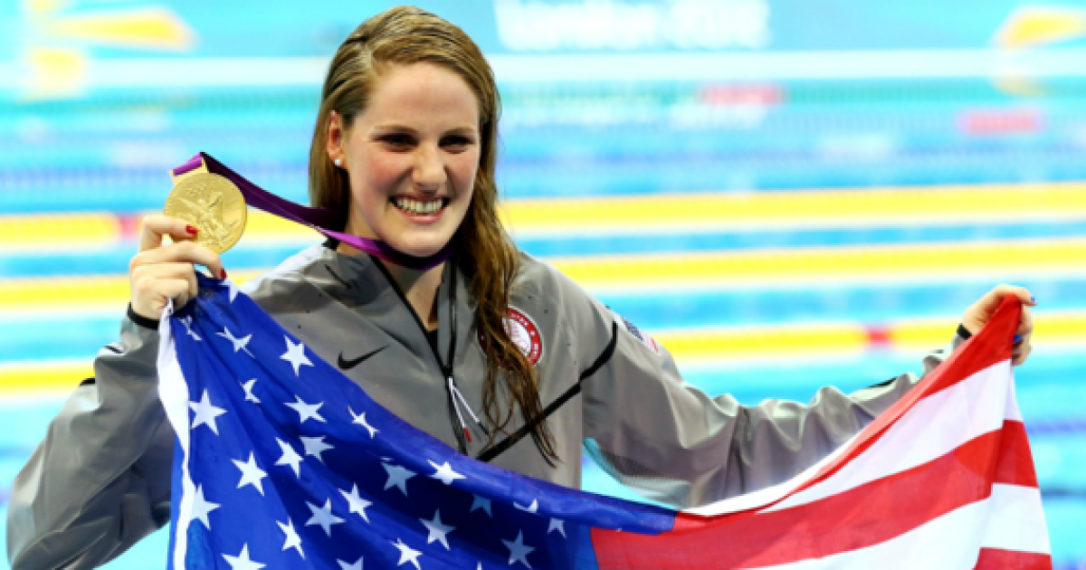 Former Olympic champ Missy Franklin weds Hayes Johnson