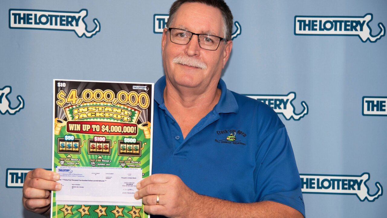 A man in Massachusetts has won $1 million in the lottery for the second time
