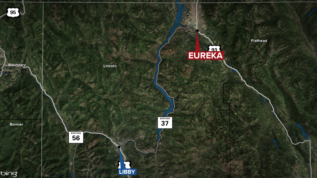 Eureka Wanted Suspect Map