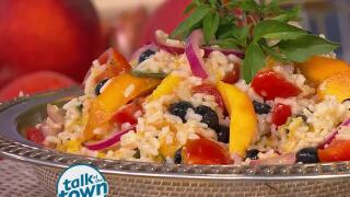 Miss Daisy King's Peachy Rice Salad