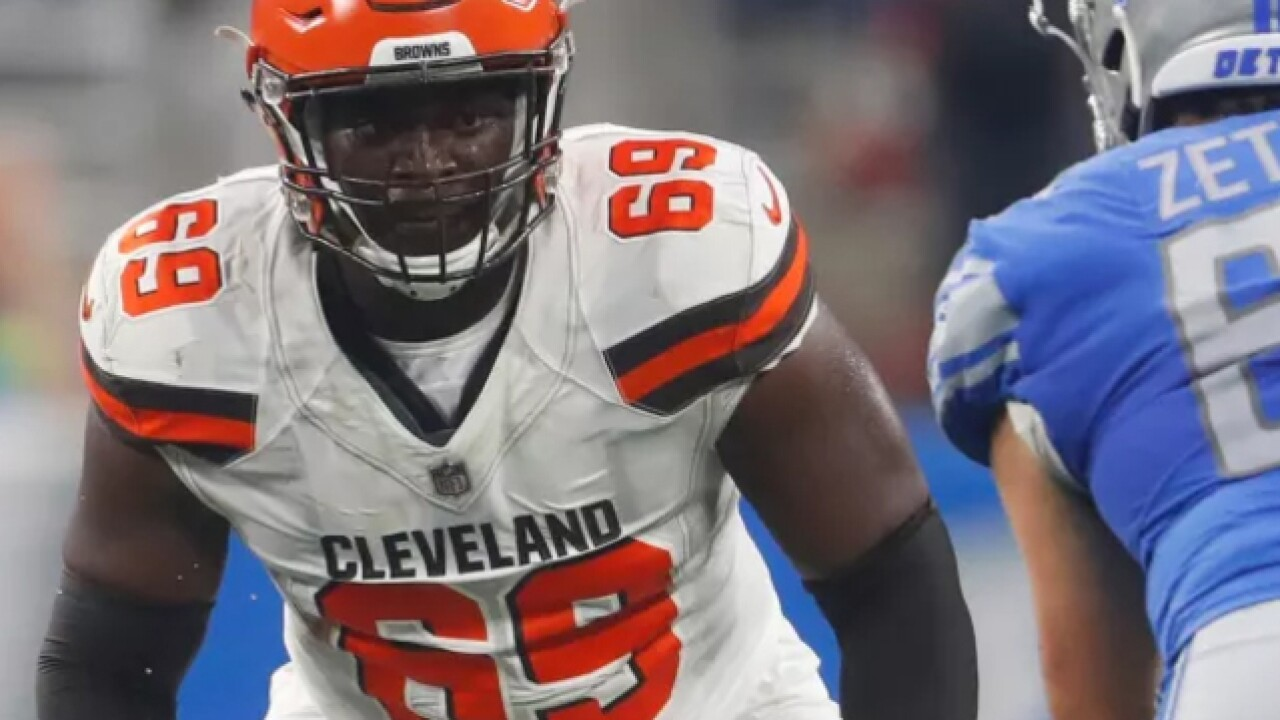 Browns name rookie Desmond Harrison as starting left tackle in season opener
