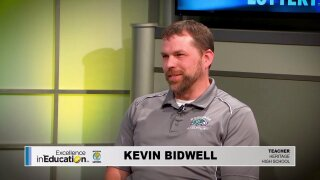Excellence in Education – Kevin Bidwell