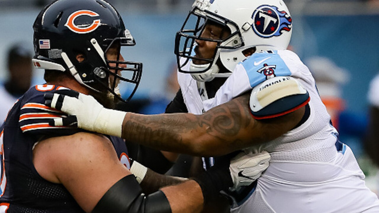 Titans defensive end Jurrell Casey says he will kneel during anthem despite new NFL rule