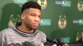 Hacker posts racist messages on Giannis Antetokounmpo's Twitter account