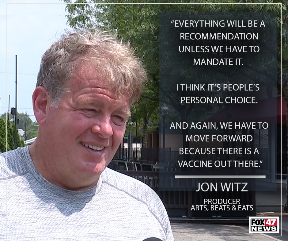 Jon Witz, producer for Arts, Beats & Eats