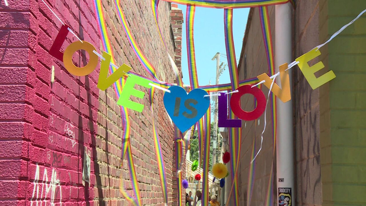 Pride parade in Carytown: 'I hope this gives them the courage to be who they really are'