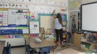 Safford K-8 School classroom