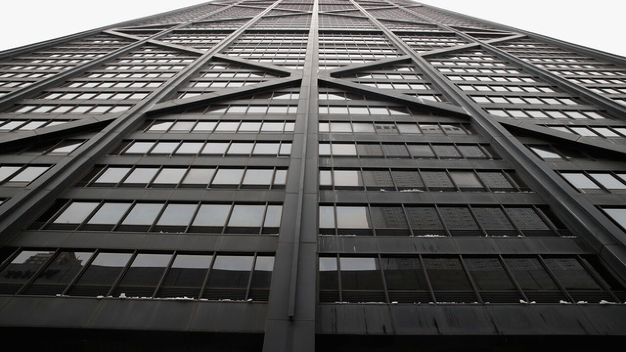 Elevator in Chicago's former John Hancock Center skyscraper fell 84 floors before rescue