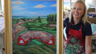 Cassy Tully Ryder Cup