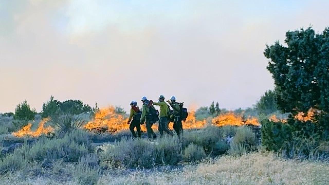 'Veyo West Fire' Courtesy Janie Hawley