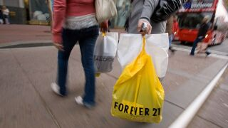 Forever 21 files for bankruptcy, intends to close up to 178 stores