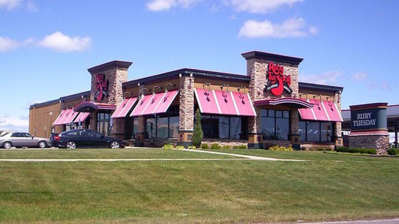 Ruby Tuesday to close 95 restaurants