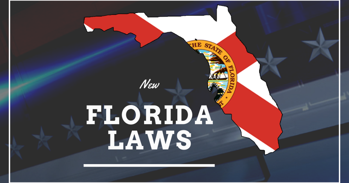 New Florida laws in effect as of October 2020