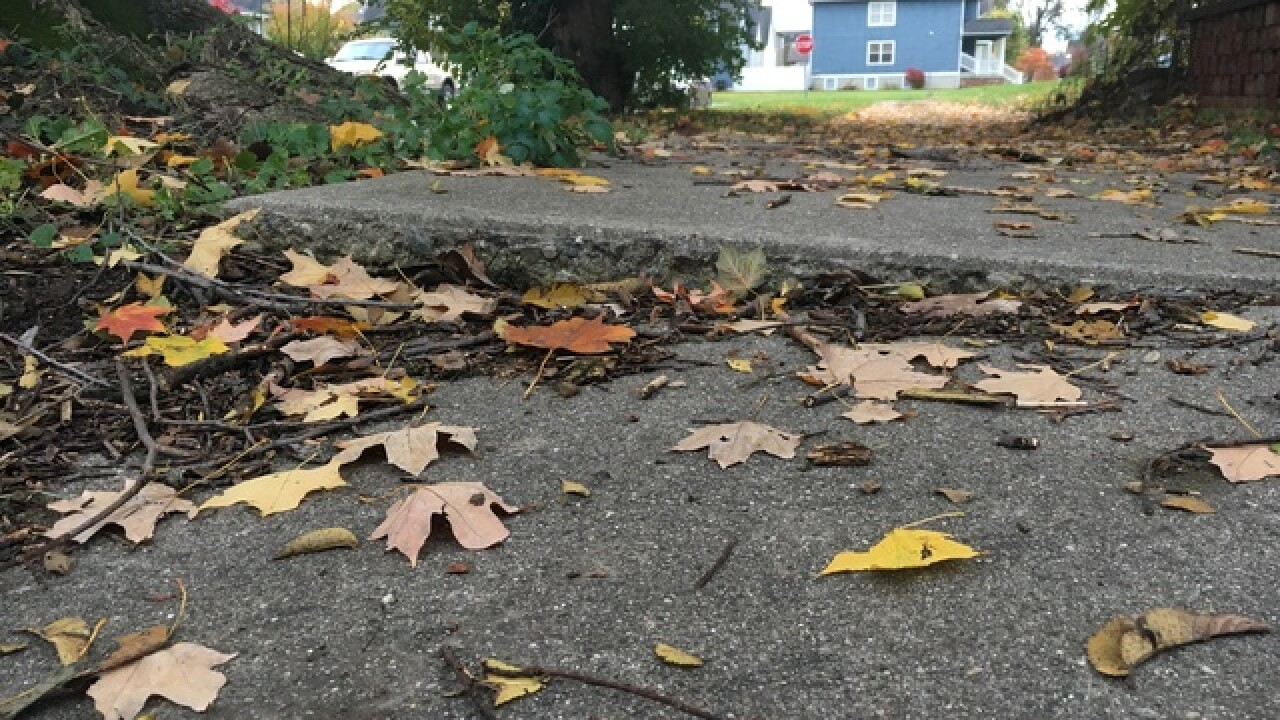 Mother wants city to fix sidewalks