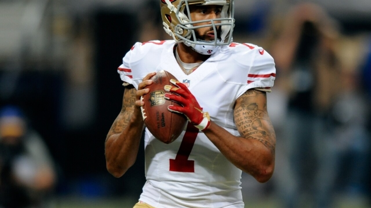 Colin Kaepernick's socks depicted police as pigs