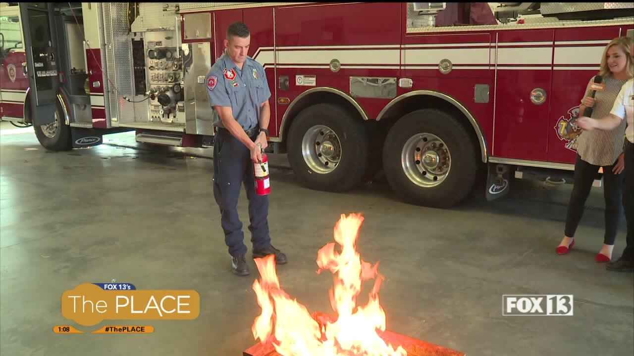 Do you know how to use the fire extinguisher in your house in case of an emergency?