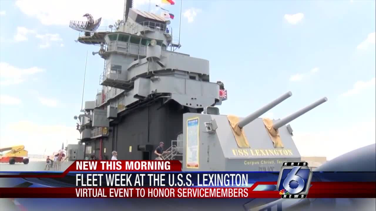 Virtual Fleet Week at the USS Lexington Museum