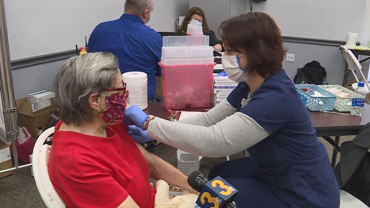 Theresa Zammit COVID-19 vaccine