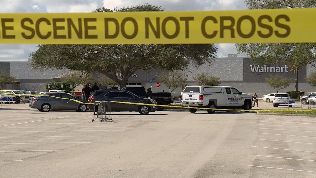 Sebastian death investigation at Walmart Oct. 5, 2021