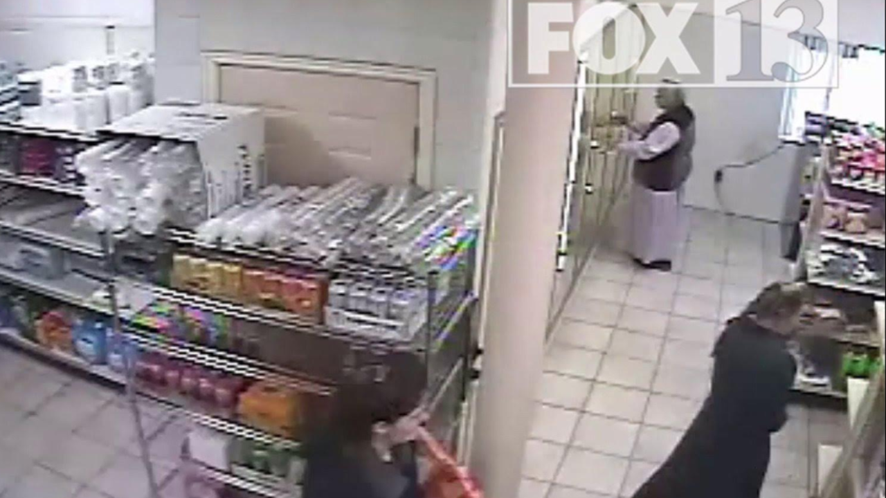 FBI surveillance video shows FLDS food stamp fraud scheme in action