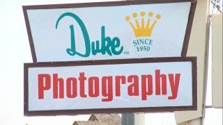 Duke Photography Sign