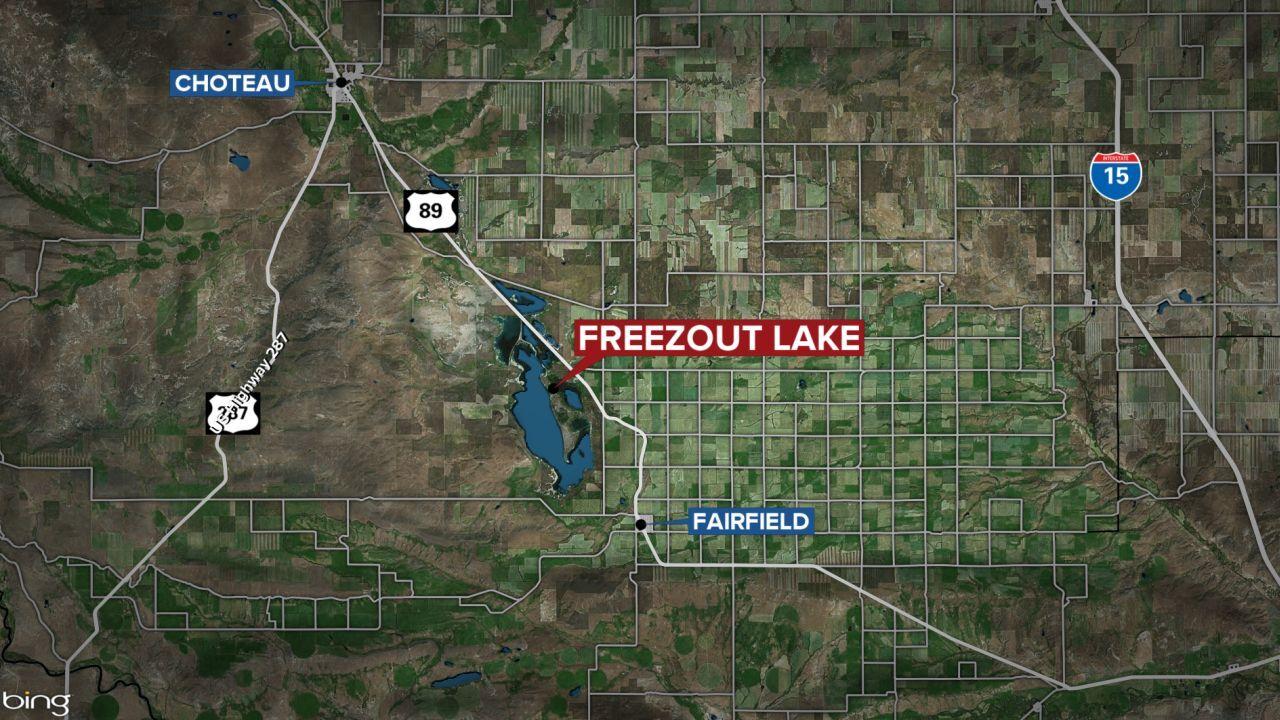 freezout lake map