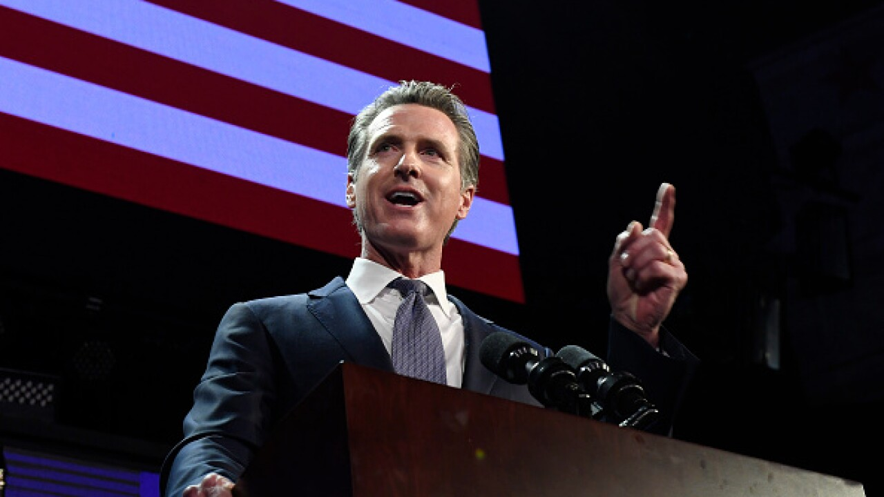 Democratic Gubernatorial Candidate Gavin Newsom Holds Election Night Event In LA