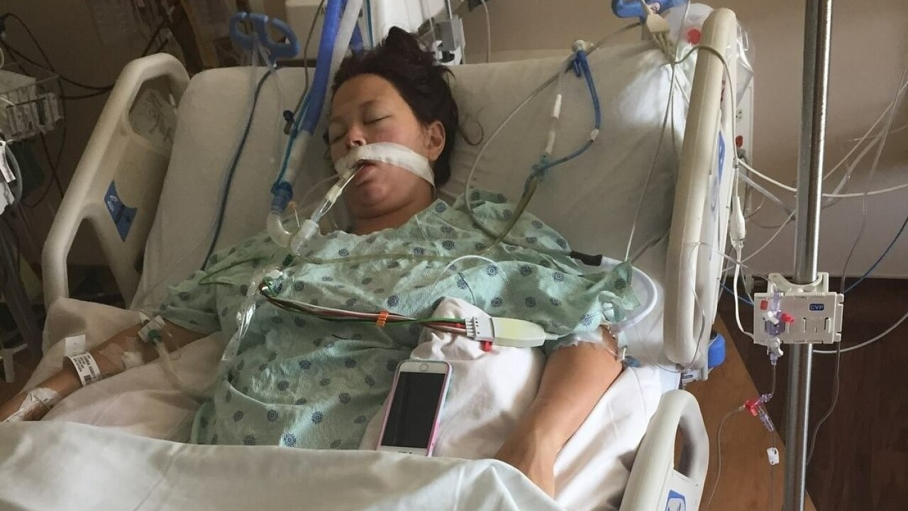 Virginia Beach woman thinks she has the flu, ends up incoma