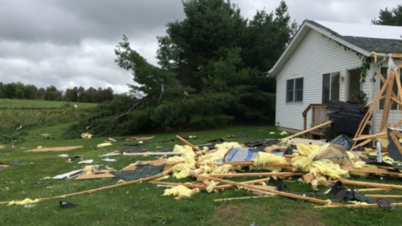 National Weather Service confirms four tornadoes touched down in Michigan Tuesday night