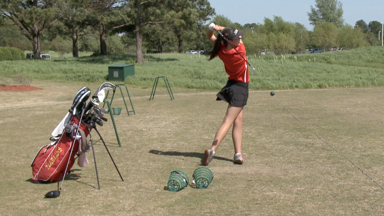 Amber Mackiewicz, Bayside High School golf