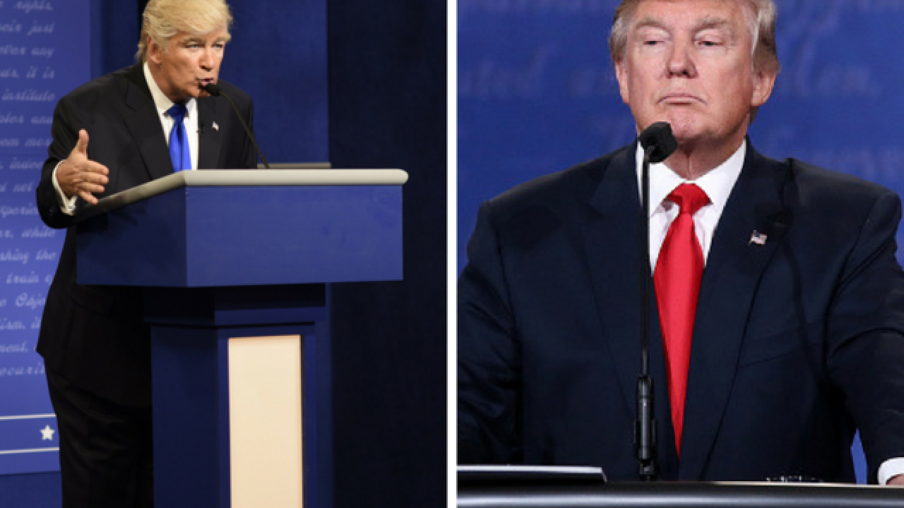 Trump trashes Baldwin's 'terrible impersonation'