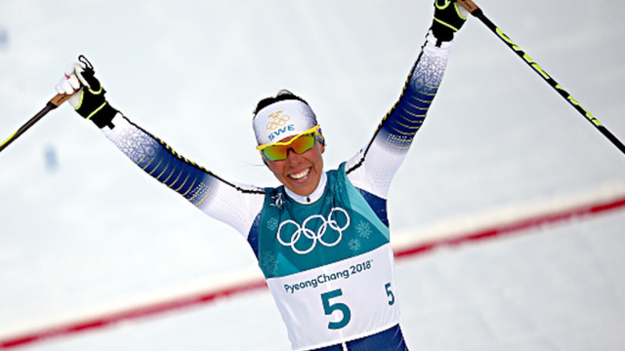 Sweden takes home first gold medal of the 2018 Winter Olympics