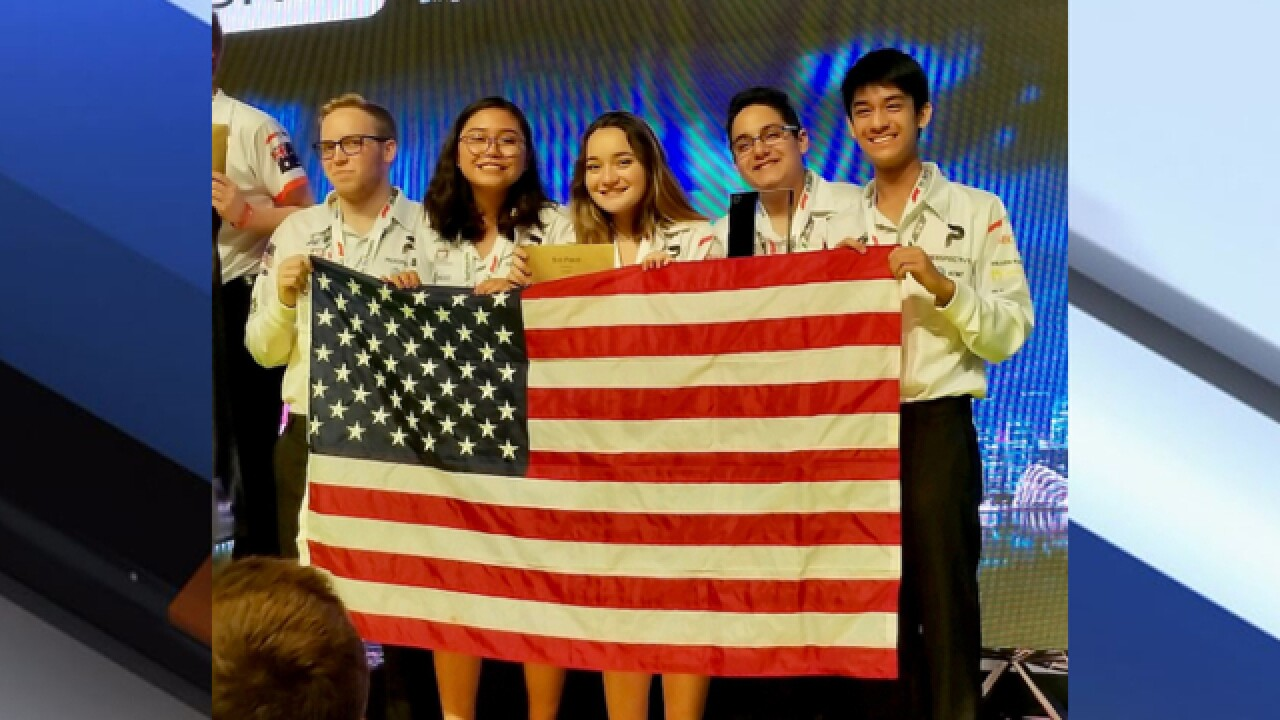 Manatee County students take third place in world STEM competition