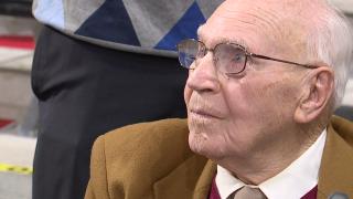 Veteran receives University of Cincinnati degree more than 70 years after starting classes