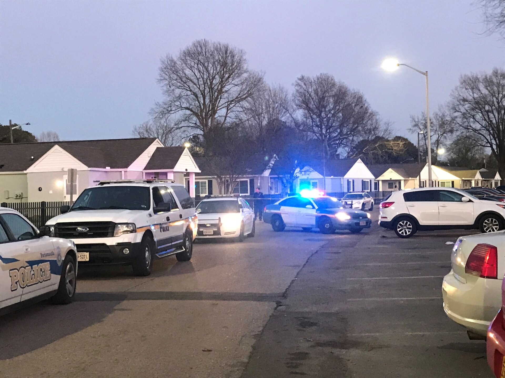 Photos: Man suffering serious injuries following Portsmouth shooting