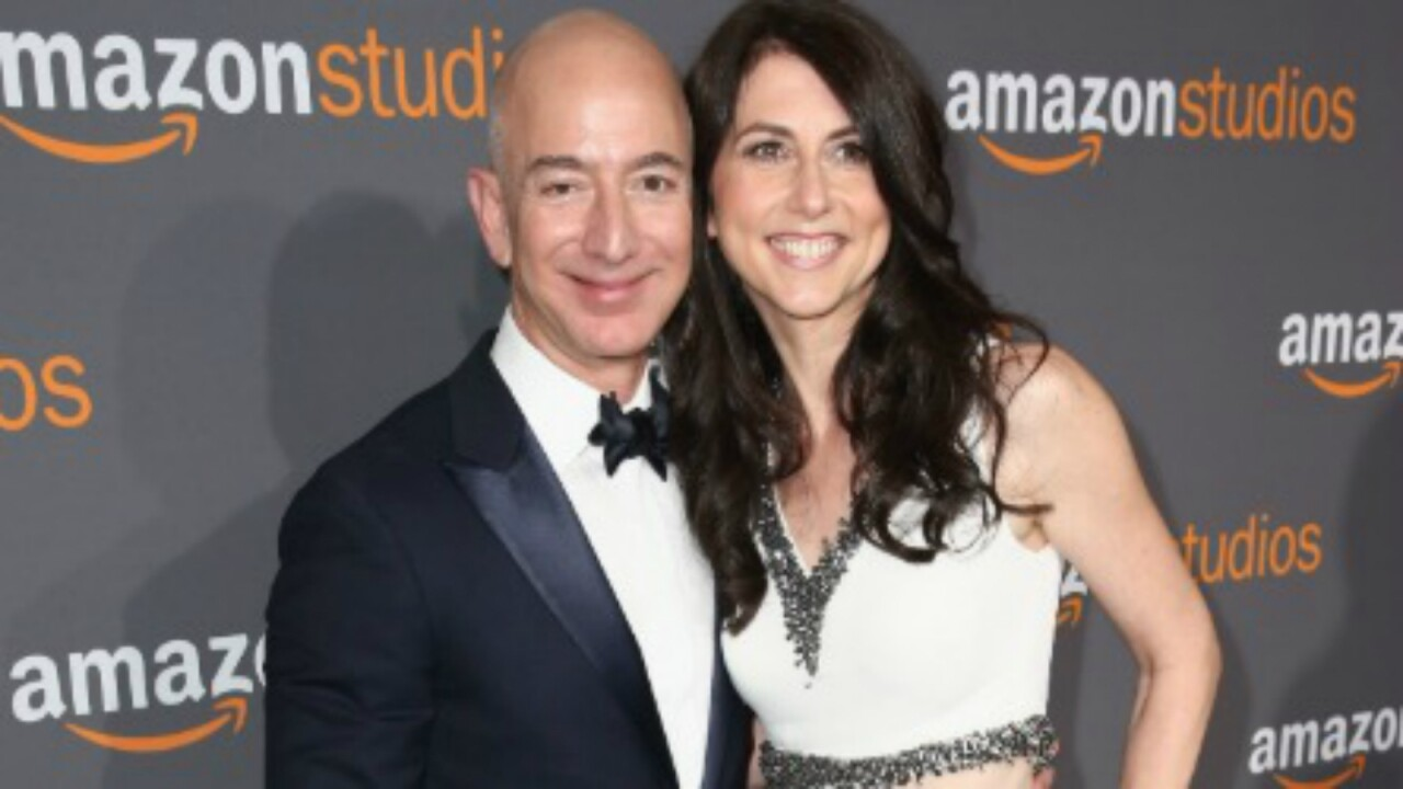 MacKenzie Bezos, worth nearly $37 billion, will give half her fortune to charity