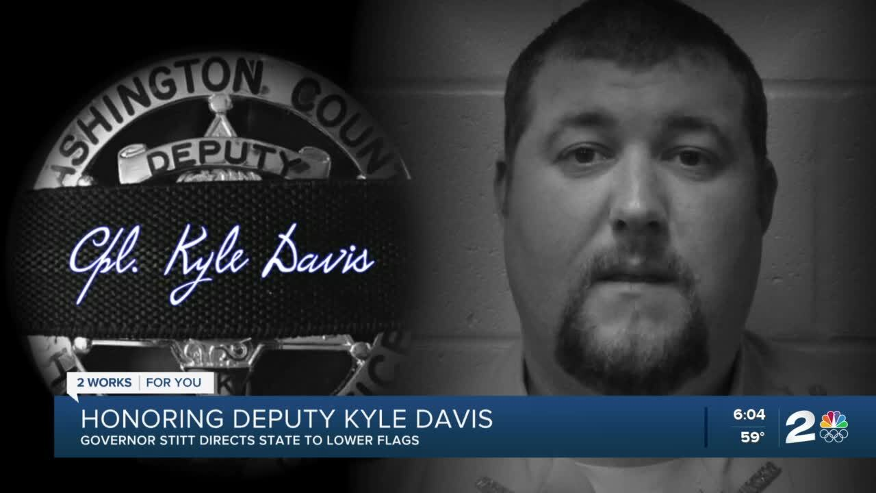 Honoring Deputy Kyle Davis